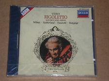 GIUSEPPE VERDI - RIGOLETTO: SCENES AND ARIAS - CD SIGILLATO (SEALED)