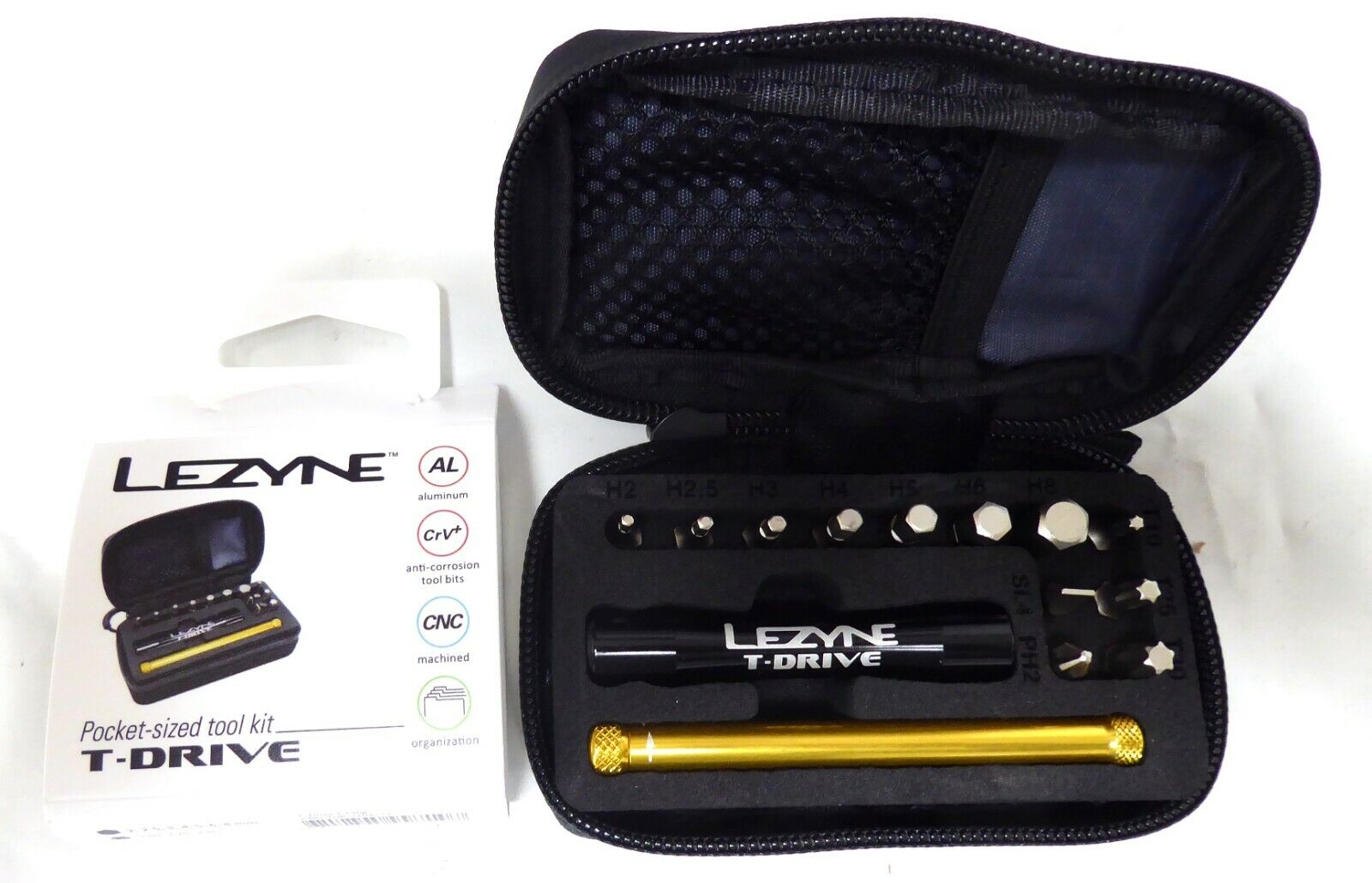 Lezyne T-Drive Tool Kit with Case