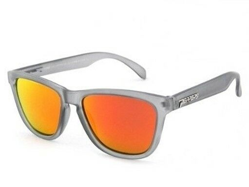 e02de993af Peppers 2-step Grey Red Mirror Polarized Mens Sunglasses for sale online