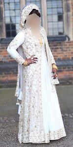 061a960dac Image is loading Asian-Wedding-Dress-Bridal-Lengha-Pakistani-Indian-Uk-