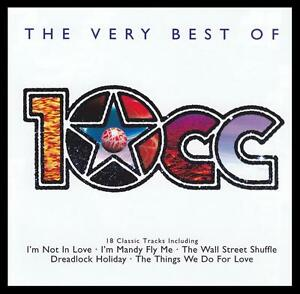 10cc-VERY-BEST-OF-D-Rem-CD-I-039-M-NOT-IN-LOVE-DREADLOCK-HOLIDAY-70-039-s-NEW