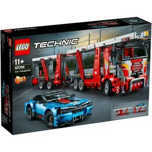 BRAND-NEW-FACTORY-SEALED-LEGO-TECHNIC-42098-CAR-TRANSPORTER-TRUCK-9-10