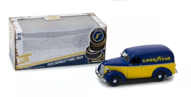 1:24 Scale 1939 Chevrolet Panel Truck Good Year Delivery Greenlight Model BNIB