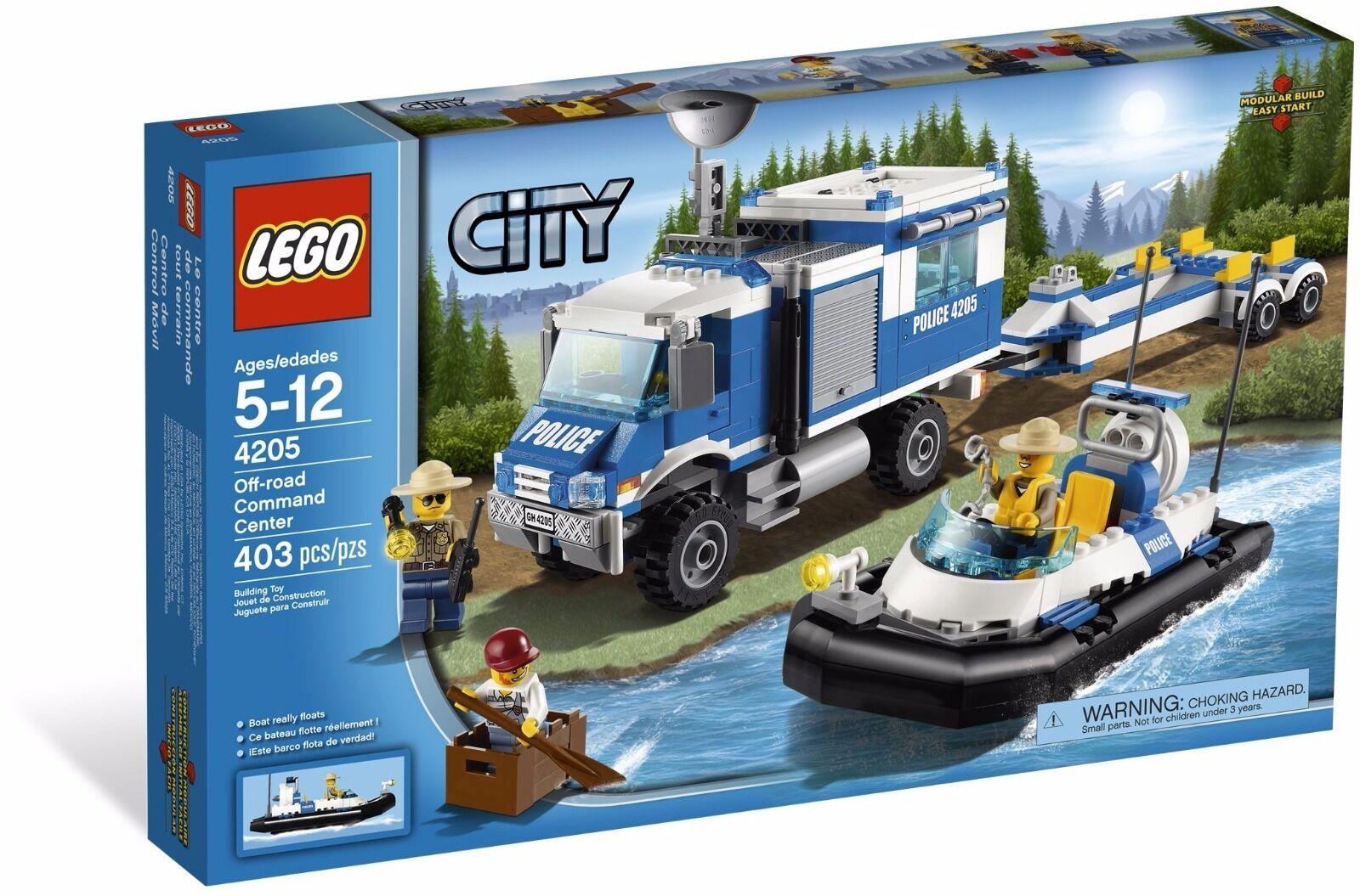 LEGO City Off-Road Command Centre ( 4205)(RetiROT 2012)(Very Rare)(NEW)