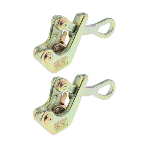 2pcs No-slip Wire Puller Insulated Wire Grip Wire Pulling Tightening 1 tons