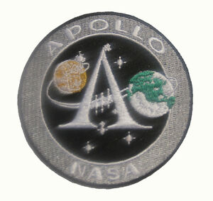 NASA APOLLO 11 XI 40TH Badge Patch 8x8 cm 3.1""