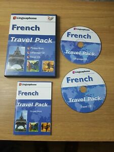 French Linguaphone Travel Pack language cd travel cd phrase book