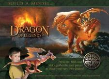 Dragon of Legends: Press out, fold, and slot together the card pieces to make yo