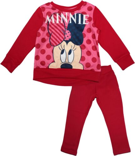 Disney Minnie Mouse Filles Chrildrens Hey Survêtement Set