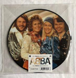 ABBA-Waterloo-40th-Anniversary-UK-7-034-Picture-Disc-Vinyl-Record-Ltd-Edition