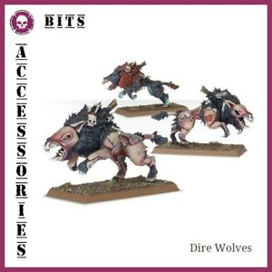 PréCis Bits Legions Of Nagash Dire Wolves Vampire Counts Warhammer Aos
