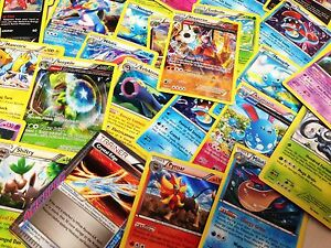Pokemon-TCG-100-CARD-LOT-COMMON-UNCOMMON-GUARANTEED-RARE-HOLO-CARDS