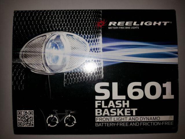 New Reelight SL601 flash luggage carrier rear bike bicycle light /& dynamo