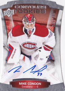 15-16-Upper-Deck-Contours-Mike-Condon-499-Auto-Rookie-Canadiens-Senators-2015