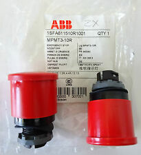 ABB MPMT3-10R Not Aus Pilztaster Emergency Stop 1SFA611510R1001 2 Stk/Pcs UNUSED