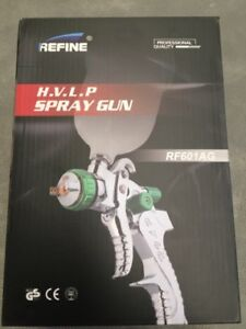 WUFU-REFINE-SPRAY-GUN-HVLP-NEW-1-4mm-QUALITY-BRAND-NEW-1-7-AVAILABLE
