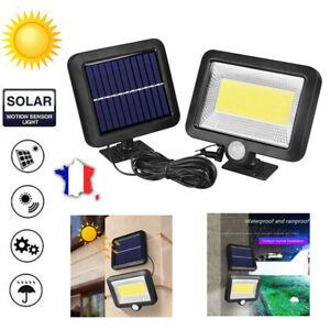 COB-100LED-Lampe-Solaire-Capteur-de-Mouvement-PIR-Jardin-Exterieur-Impermeable