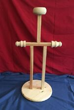 HEAVY DUTY ARMOR HALF DISPLAY STAND * MADE in U.S.A. - approx. three feet tall.
