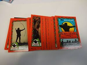 Robin Hood Prince of Thieves Full 55 Card /& 9 Sticker Set from Topps 1991