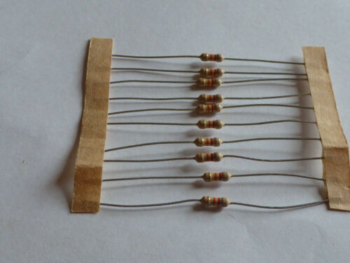 82K Ohm 1//4 Watt carbon film resistors 10 pcs lot