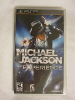 Michael Jackson: The Experience (playstation Portable, Psp) Brand New, Sealed