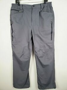 Berghaus-Ortler-2-0-Water-Resistant-Winter-Pants-size-XL-36x30-Gray