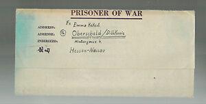 1946-US-Army-POW-Letter-Cover-to-Germany-Prisoner-of-war-APO-809-Heinz-Kekert