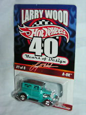 "HWC  ""LARRY WOOD 40 YEARS OF DESIGN"" METAL AQUA A-OK W/REAL RDR(#01082 of 07500)"