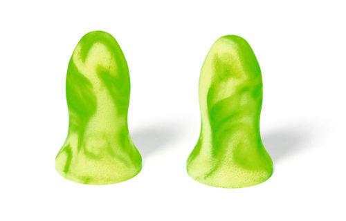 5 paia di COLORATE Sian tappi per le orecchie Impermeabile Riutilizzabile insonorizzato Sleep assistere