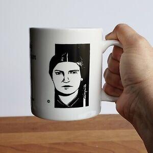 Emily Dickinson poet Funeral in My Brain poem coffee tea mug by 10 oz gift