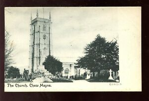 Somerset-CHEW-MAGNA-The-Church-early-PPC