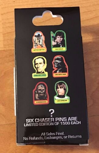 CHASER SEE-THREEPO Star Wars A New Hope 40th Mystery Pin Disney LE C-3PO