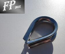 Cosse Coeur 20 mm inox 316