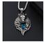 Collar cabeza de lobo unisex colgante amuleto talisman Animal encanto