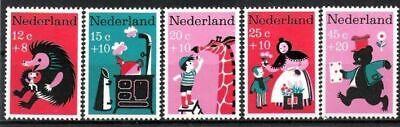 Kinderlieder 1967 Postfrisch Niederlande Nr.888/92 ** Voor Het Kind