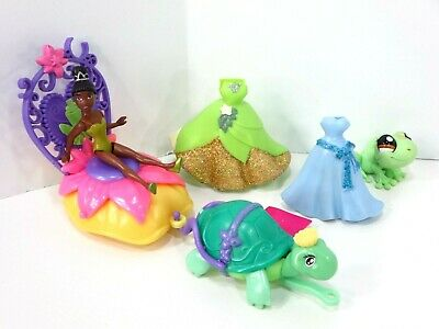 Rubber 3 1//2 Mini Doll The Princess and the Frog Little Kingdom Tiana Disney Princess