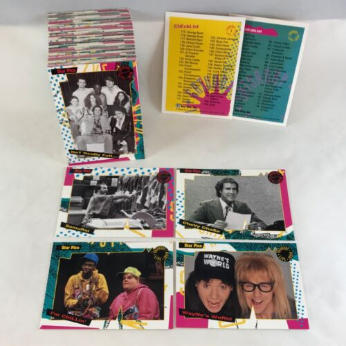 SATURDAY NIGHT LIVE OFFICIAL TRADING CARD SET from 1992 LORNE MICHAELS SNL CAST