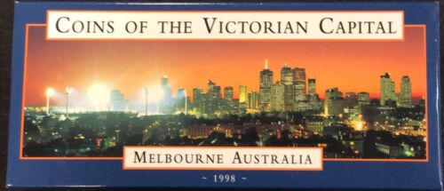 1998 coins of the Victorian capital Melbourne