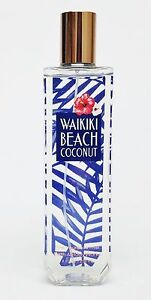 Details About 1 Bath Body Works Waikiki Beach Coconut Fine Fragrance Mist Spray Splash Spring