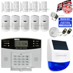 LCD-WIRELESS-SOLAR-POWER-GSM-AUTODIAL-HOME-HOUSE-SECURITY-BURGLAR-INTRUDER-ALARM