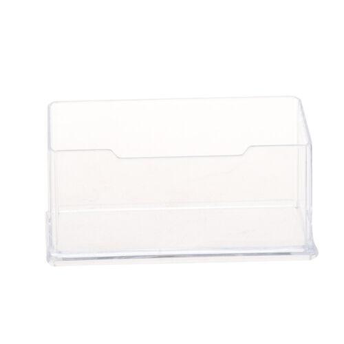 5X Neue freie Desktop-Visitenkartenhalter Staender Acryl Kunststoff N9Z6