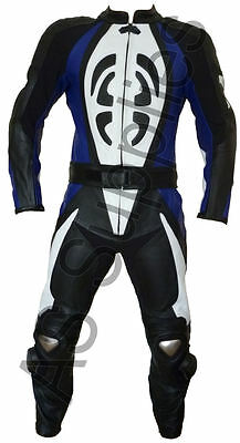 """All sizes! /""""STASIS/"""" neXus New Armoured 2-piece Leather Biker Motorcycle Suit"""
