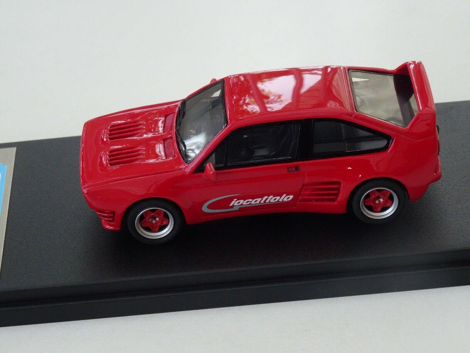 Chestnut models. 1 43. alfa romeo sprint giocattolo. v8. 1986.