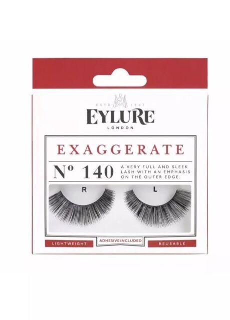 8e16a263c12 Eylure False Eyelashes - Exaggerate No. 140 - Genuine Eylure False Lashes