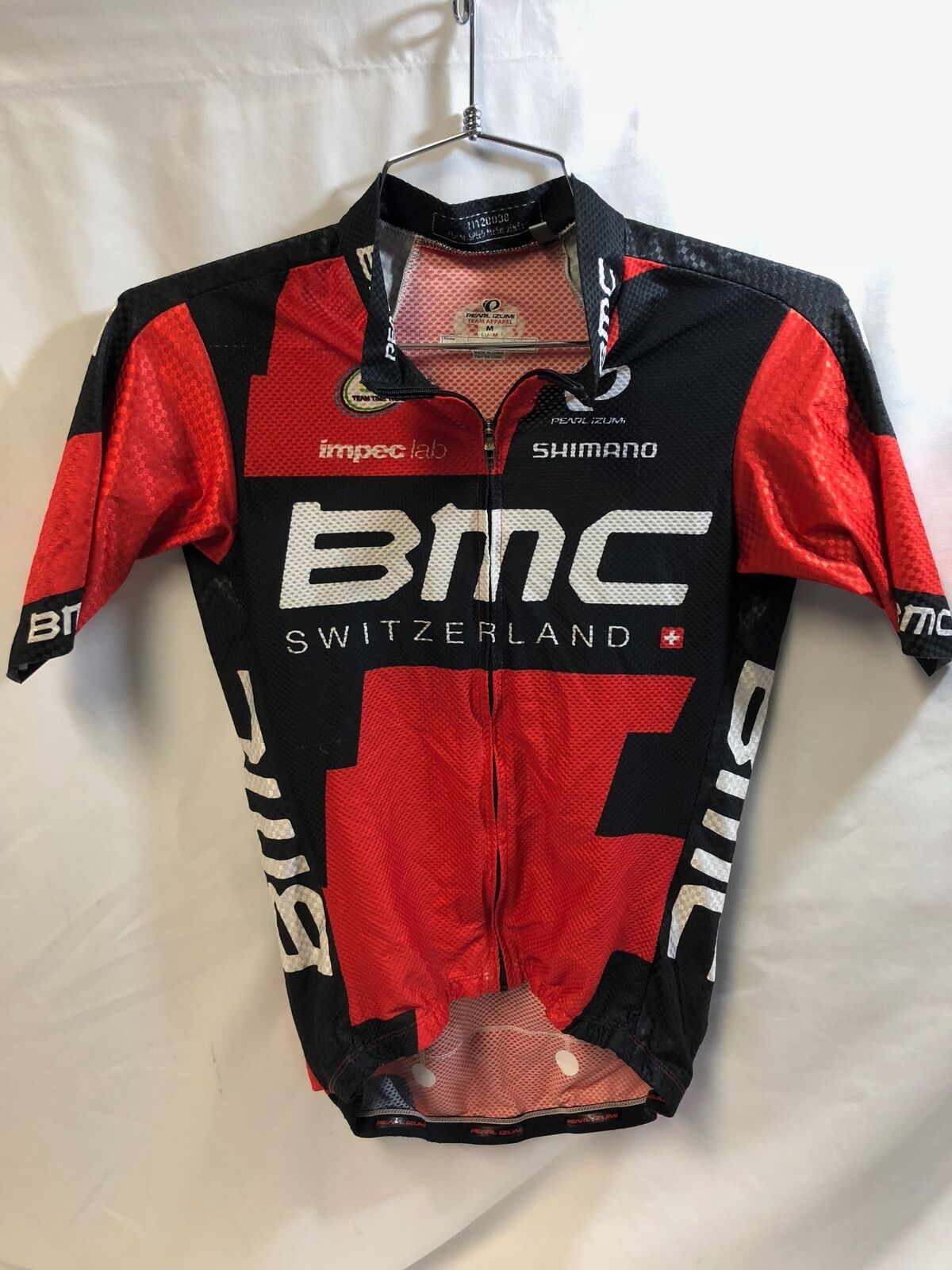 Pearl Izumi BMC Team Apparel Speed Mesh Jersey Jersey Jersey Med M 2016 Cycling Bicycle 59294b