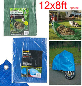 Lightweight Camping Cover Waterproof Tarpaulin Ground Sheet 80gsm Value Tarp
