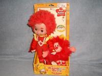 Rainbow Brite Red Butler And Romeo Toy Play 2003 Hallmark Doll