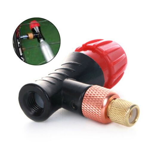 54mm Bicycle Inflator Head Nozzle Adapter For Presta Schrader Valve CO2 Pump