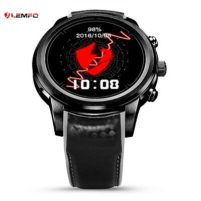 Lemfo LEM5 Bluetooth Reloj Inteligente 2017 Frecuencia Cardíaca For Android IOS