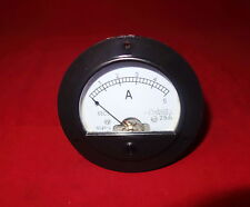 Dc 0 5a Round Analog Ammeter Panel Amp Current Meter Dia 90mm Direct Connect